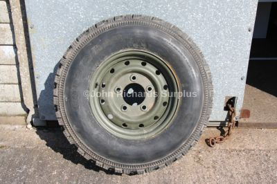 Goodyear G90 750 x 16 Tyre on Land Rover Defender Wolf Rim (Collection Only)