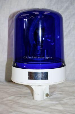 Britax 12 Volt Pole Mount Blue Rotating Beacon 372-25