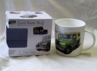 Bone China Land Rover Mug Gift Boxed LR0008