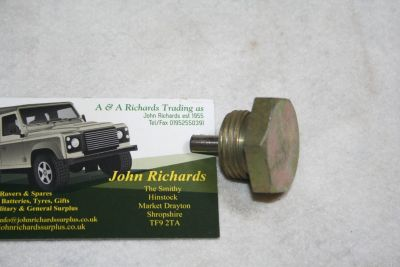 Land Rover 5 speed Gearbox magnetic plug FRC6145G