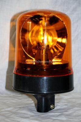 Britax 12 Volt Pole Mount Amber Rotating Beacon 372-01