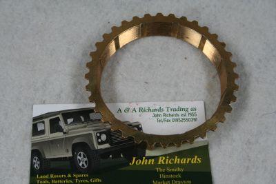 Land Rover Series 3 Gearbox 1st/2nd Synchroniser Baulk Ring 591364