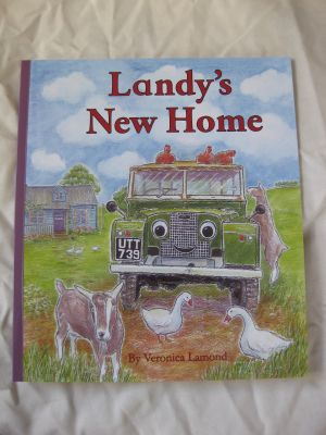 Landy's New Home story book by Veronica Lamond