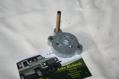 Land Rover V8 Carburettor Cold Start Face Plate 606808