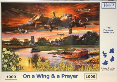 Wing and a Prayer 1000 Piece Jigsaw Puzzle WW2 Aircraft Flying Home