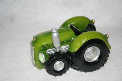 Regency classix vintage Green Tractor money box piggy bank