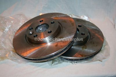 Brake Disc Front Pair Vented LR007055