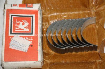 Bedford Vauxhall 1256cc STD Big End Bearing Set 91008603 3120-99-752-2464