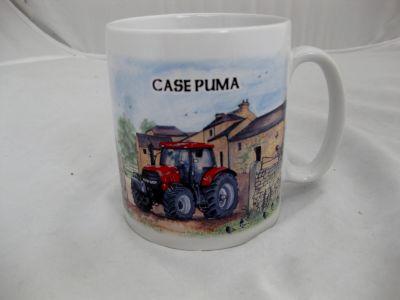Ceramic Durham mug Case Puma 230 Tractor