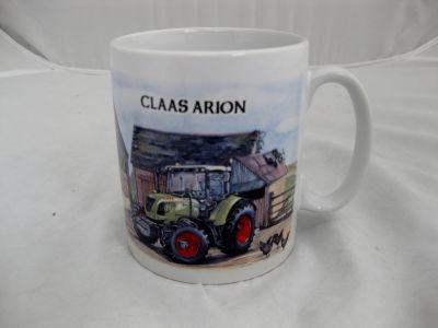 Ceramic Durham mug Claas Arion 640 Tractor