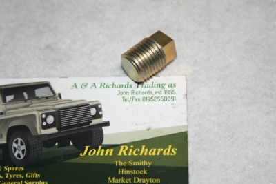 Land Rover Wading plug Oil Level Plug Various Applications 3290