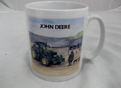 Ceramic Durham mug JD 7530 Tractor