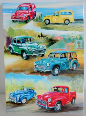 Blank Greeting Card with envelope for any Occasion Morris Minors 10480