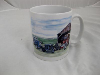 Ceramic Durham mug Classic Tractors Massey Ferguson Ford