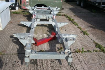Land Rover Defender 110 Galvanised Chassis  KVD100220 (Collect only)