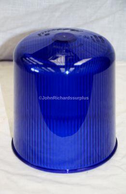 Land Rover Rubbolite Blue Rotating Beacon Lamp Lens STC3447
