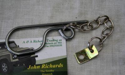 Land Rover Nato Hitch Jaw Lock R Clip RTC5597