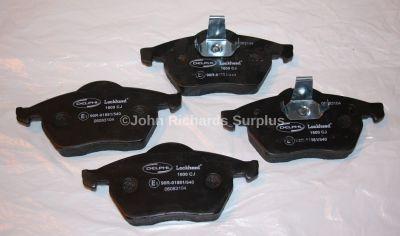 Delphi Jaguar XJ Saloon Brake Pad Set LP600
