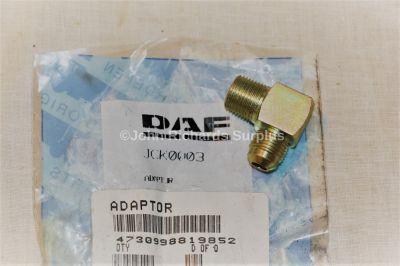 Daf Truck Elbow Adaptor JCK0003 4730-99-881-9852