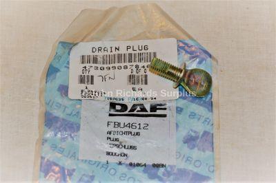 Daf Truck Drain Plug FBU4612 4730-99-087-8469