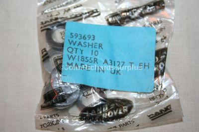 Land Rover Differential Crown Wheel Housing Washer Pack x10 593693