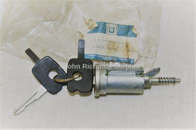 Bedford Vauxhall Chevette Steering Lock Barrel & Keys 91084693 2920-99-756-3351