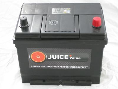 Juice 12V 68AH Car Battery Type 068 (Collect Only)
