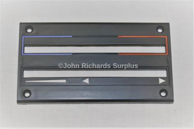 Bedford Vauxhall Heater Control Escutcheon 91054568 2540-99-752-2553