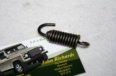 Land Rover LT95 V8 gearbox reverse gate spring 591320