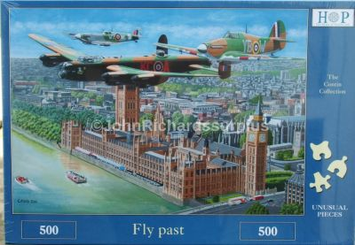 Fly Past 500 Piece Jigsaw Puzzle Battle of Britain Memorial Flight