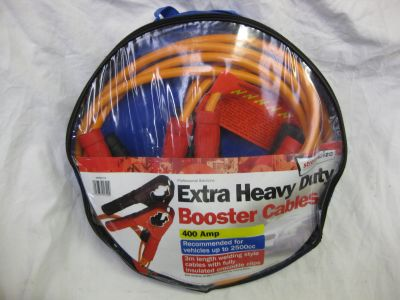Streetwise 400 Amp Extra Heavy Duty Battery Booster Cables SWBC7/3