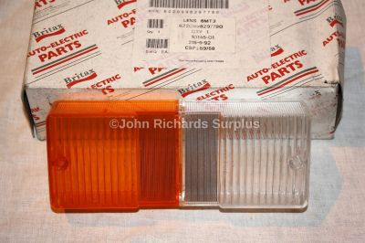 Britax Front Indicator and Side Lamp Lens 10145-01