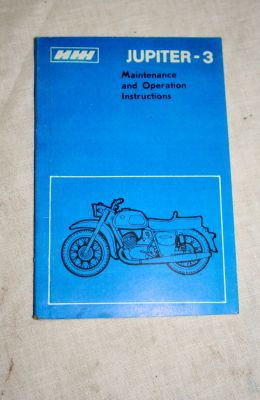 Cossack Jupiter-3 motorbike user handbook
