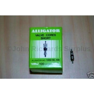 Alligator valve cores box of 100 1332-N1