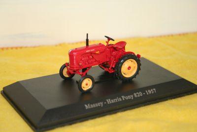 Universal Hobbies Die Cast Massey Harris Pony Tractor 1:43 scale 6020