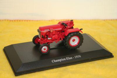 Universal Hobbies Die Cast Champion Elan Tractor 1:43 scale 6026