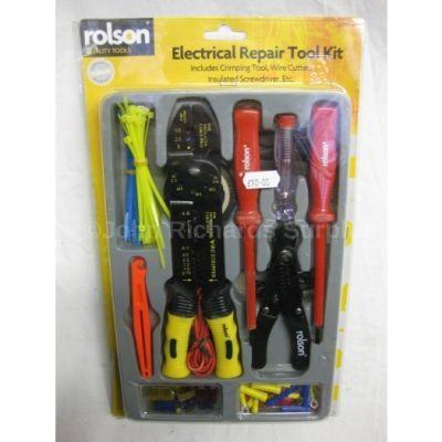Rolson Electrical Repair Tool Kit 20800