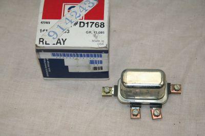 Delco relay switch Chevrolet Pontiac Cadillac Corvette 9142430 D1768