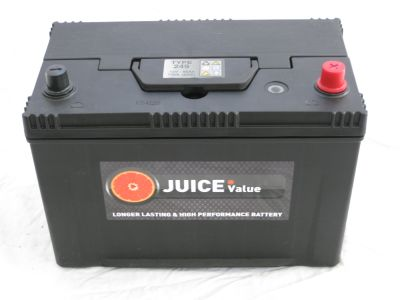 Juice 12V 85AH Car Battery Type 249 (Collect Only)