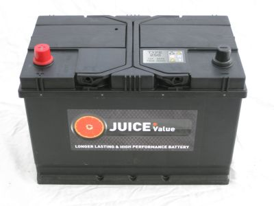 Juice 12V 95AH Car Battery Type 250 (Collect Only)
