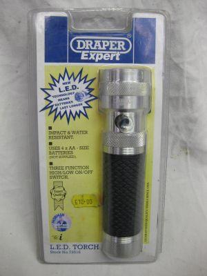 Draper LED Torch 73516