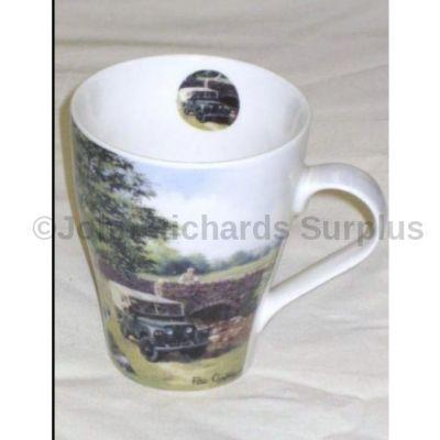 Leonardo china latte mug series 1 Land Rover by Bridge