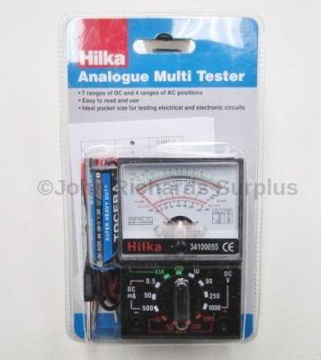 Hilka Analogue Multimeter Tester 68276C