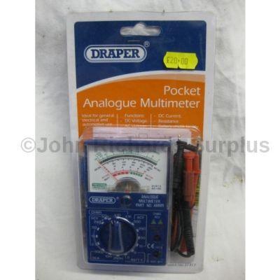 Draper Pocket Analogue Meter 37317