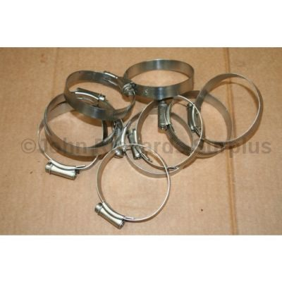 Jubilee Hose Clamp-clip Stainless Steel 70mm pack of 10