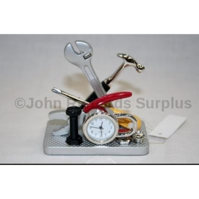Miniature Spanner Set Design Battery Operated Desk Clock 530