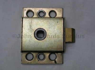 Universal use spring loaded door latch