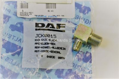 Daf Truck Elbow Adaptor JCK0015 4730-99-829-9691