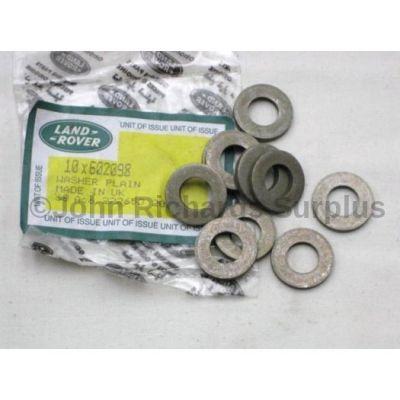 Land Rover V8 head bolt washer x10 602098