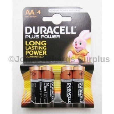 Duracell AA Batteries x 4